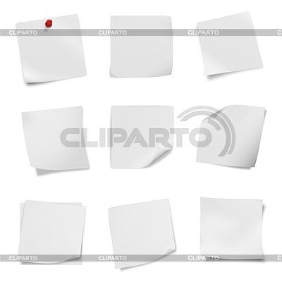 Коллекция различных листовки пустой белой бумаги | Фото большого размера |ID 3580375