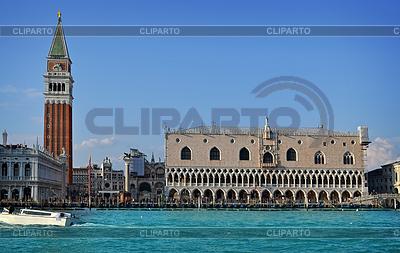 Wenecja, Włochy Doge `s Palace w. | Foto stockowe wysokiej rozdzielczości |ID 3687578