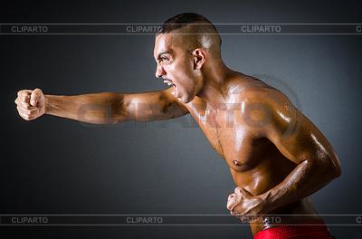 Спортивная ярость бокса | Фото большого размера |ID 3494261