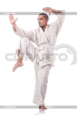 Fighter sztuk walki karate | Foto stockowe wysokiej rozdzielczości |ID 3599619
