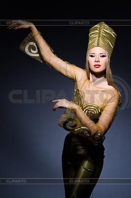 Young model in Personifizierung der ägyptische Schönheit | Foto mit hoher Auflösung |ID 3676588