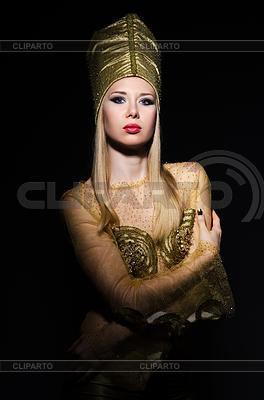 Young model in Personifizierung der ägyptische Schönheit | Foto mit hoher Auflösung |ID 3701706