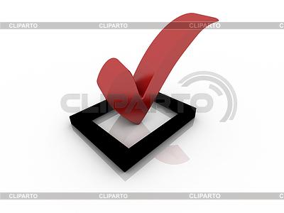 Pole czerwone z haczykiem | Stockowa ilustracja wysokiej rozdzielczości |ID 3389539