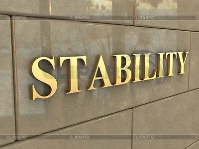 Word Stability - Illustration Word Stability