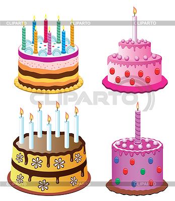 Картинки торт с свечкой в виде двойки