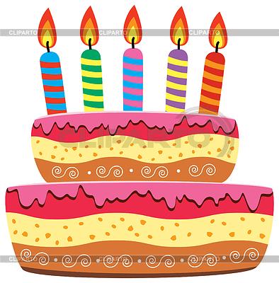 день рождения клипарт векторный: