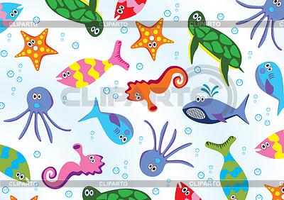 Meerestiere | Stock Vektorgrafik |ID 3538258
