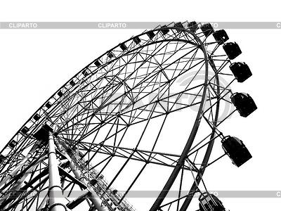 Kontur eines Riesenrades | Foto mit hoher Auflösung |ID 3392443