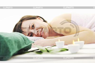 Frau Massage | Foto mit hoher Auflösung |ID 3423086