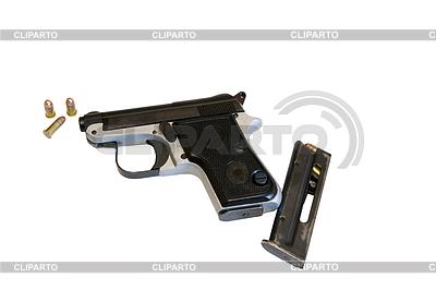 권총. 베레타 950 짧은 22 | 높은 해상도 사진 |ID 3436489