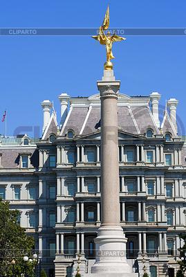 Eisenhower Exekutive Washington DC.Office Gebäude | Foto mit hoher Auflösung |ID 3439608