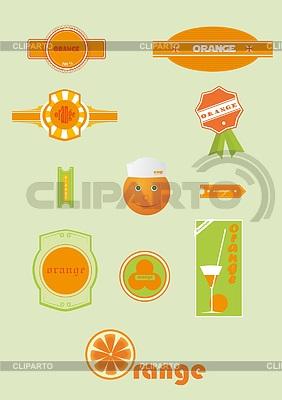 Reihe von Etiketten | Stock Vektorgrafik |ID 3448926