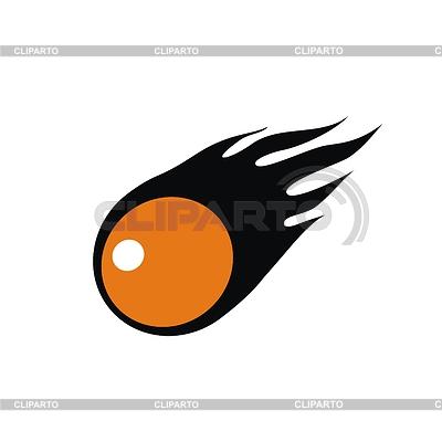 Ball mit Flammen | Stock Vektorgrafik | AccuLOGO - Verkauf der Exklusivrechte |ID 3461057