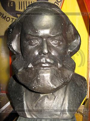 Karl Marx Bronzebüste | Foto mit hoher Auflösung |ID 3475399