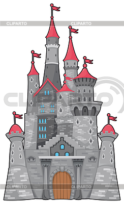 Mittelalter und Fantasie-Schloss | Stock Vektorgrafik |ID 3497609