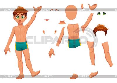 Części ciała | Klipart wektorowy |ID 3520587