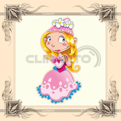 Lustige Princess | Stock Vektorgrafik |ID 3525088