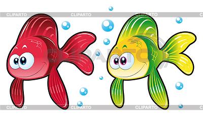 112Открытка аквариум с рыбками