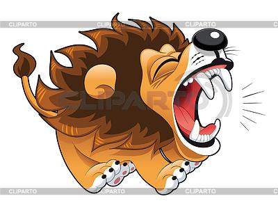 Barking lwa | Klipart wektorowy |ID 3528368