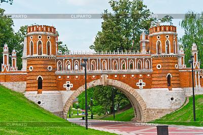 Tsaritsino Palast. Brücke | Foto mit hoher Auflösung |ID 3468208