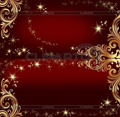 Ciemny czerwony szablon do projektowania | Stockowa ilustracja wysokiej rozdzielczości |ID 3477658