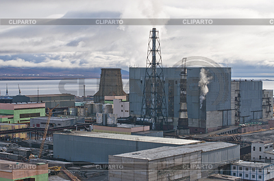 Anadyr power plant | Foto stockowe wysokiej rozdzielczości |ID 3520543
