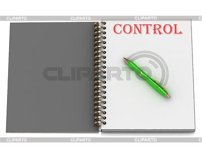 控制笔记本页面上题词 | 高分辨率插图 |ID 3477961