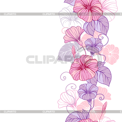 цветочный векторный клипарт: