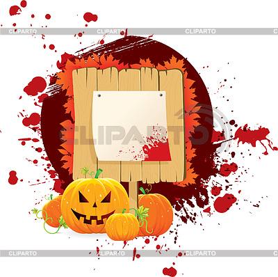 Halloween tła z pumkins | Klipart wektorowy |ID 3486911