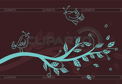 Stylizowane gałąź drzewa | Klipart wektorowy |ID 3487027