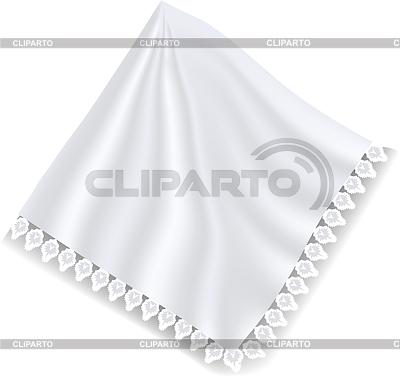 Белая салфетка | Векторный клипарт |ID 3507117