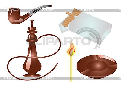 Akcesoria dla palaczy | Klipart wektorowy |ID 3544037