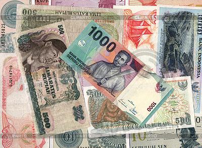 Hintergrund von Indonesien Geldscheine | Foto mit hoher Auflösung |ID 3504905