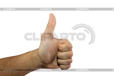 Finger nach oben | Foto mit hoher Auflösung |ID 3540164