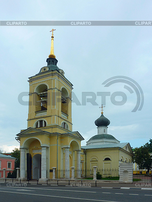 Church of the Assumption in the Cossack settlement | Foto stockowe wysokiej rozdzielczości |ID 3591312