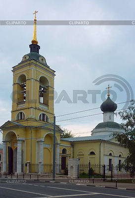 Church of the Assumption in the Cossack settlement | Foto stockowe wysokiej rozdzielczości |ID 3591313