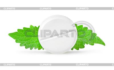 Aspiryna z miętą | Foto stockowe wysokiej rozdzielczości |ID 3555039