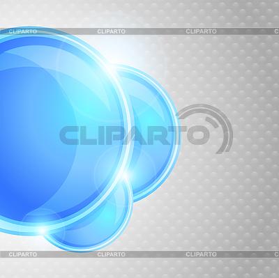 Bright background with blue circles | Stockowa ilustracja wysokiej rozdzielczości |ID 3690122
