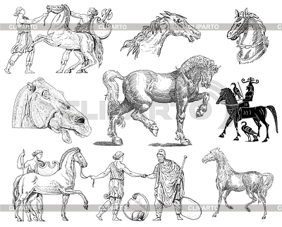 Küchenhelfer - Kritzeleien Sammlung | Illustration mit hoher Auflösung |ID 3670336