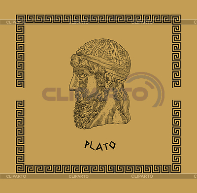 Plato, the famous, classical Greek philosopher | 高分辨率插图 |ID 3675093