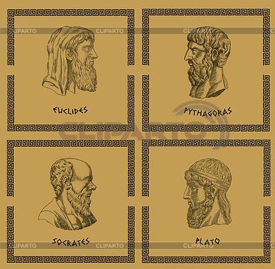 著名的希腊哲学家 | 高分辨率插图 |ID 3675094