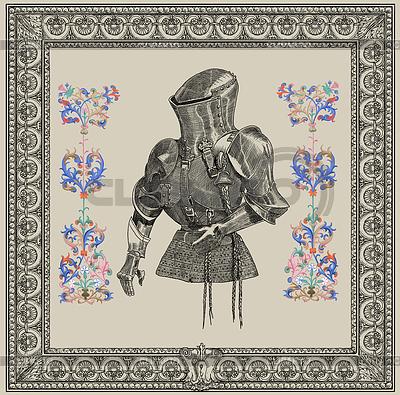 Alte Ritter Darstellung | Illustration mit hoher Auflösung |ID 3691889