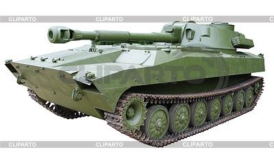 Selbstfahrende gepanzerte Artillerie Haubitze | Foto mit hoher Auflösung |ID 3573184