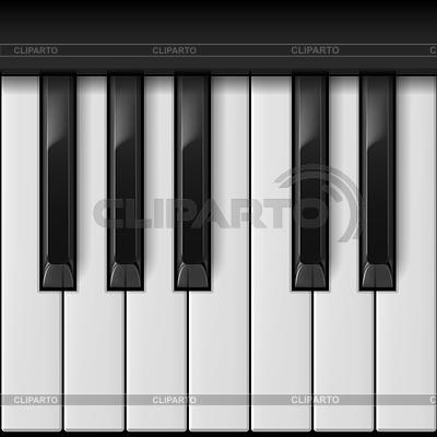 Вектор пианино клавиши 5
