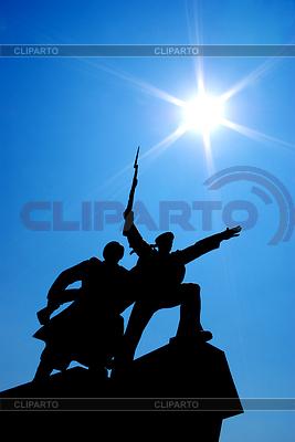 Силуэт памятника | Фото большого размера |ID 3695978