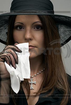 Schwarze Witwe   Foto mit hoher Auflösung  ID 3605986