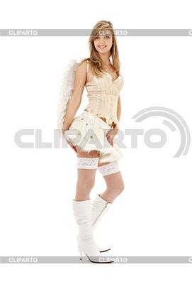 Furry skirt angel | Foto mit hoher Auflösung |ID 3616518