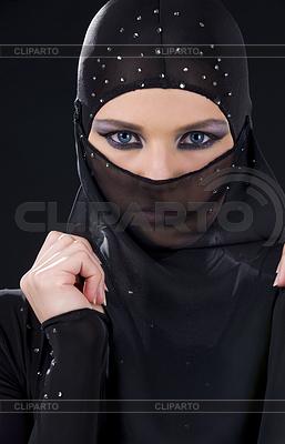 Ninja Gesicht | Foto mit hoher Auflösung |ID 3622914