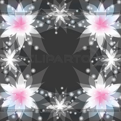 Фон для открытки с лилиями