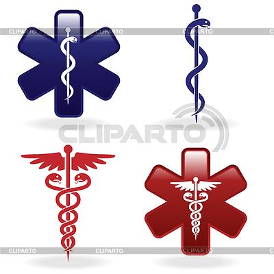 Symbole medyczne określone | Klipart wektorowy |ID 3640459